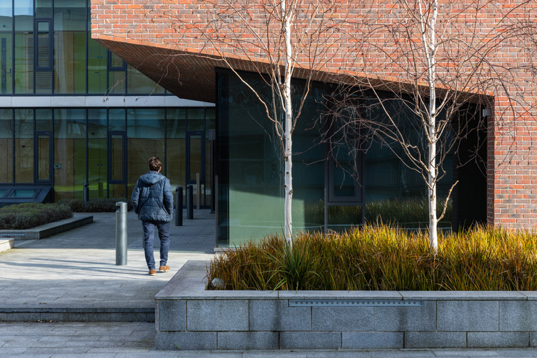 Exterior view of Nano Research Facility at DCU, Dublin