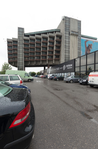 The Forum Hotel (FORUM Przestrzenie) in Krakow.
