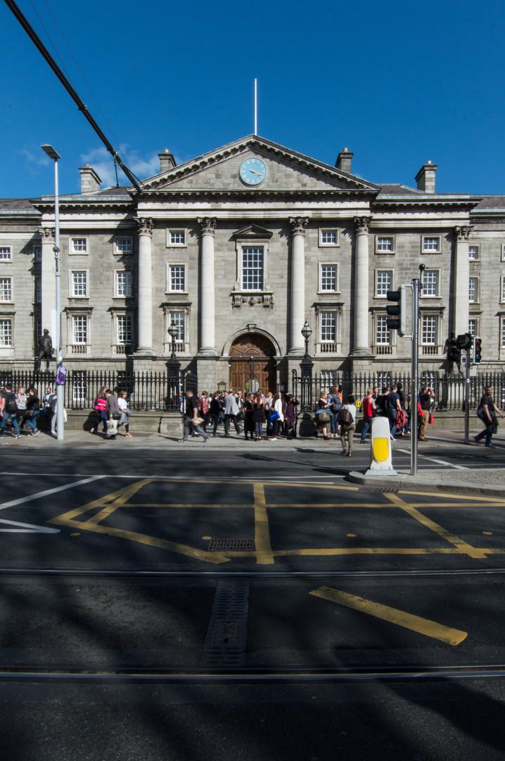 Entrance to Trinity College, Dublin