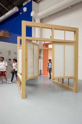 Moving pavilion by Kevin Donovan, Ryan W. Kennihan at the Venice Biennale 2018