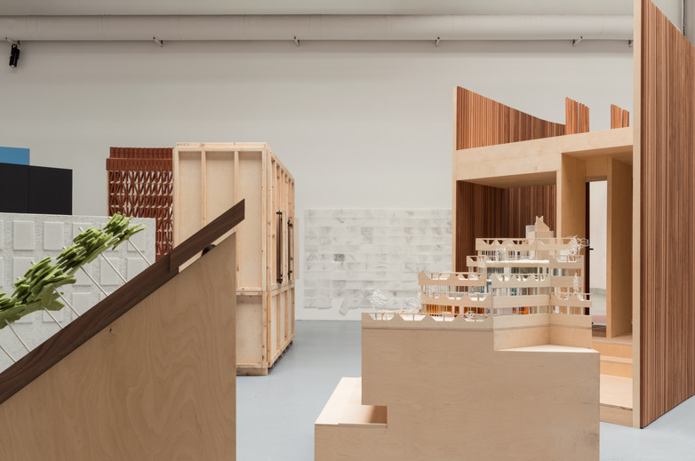 White model designed by Mary Laheen Architects at Venice Biennale 2018