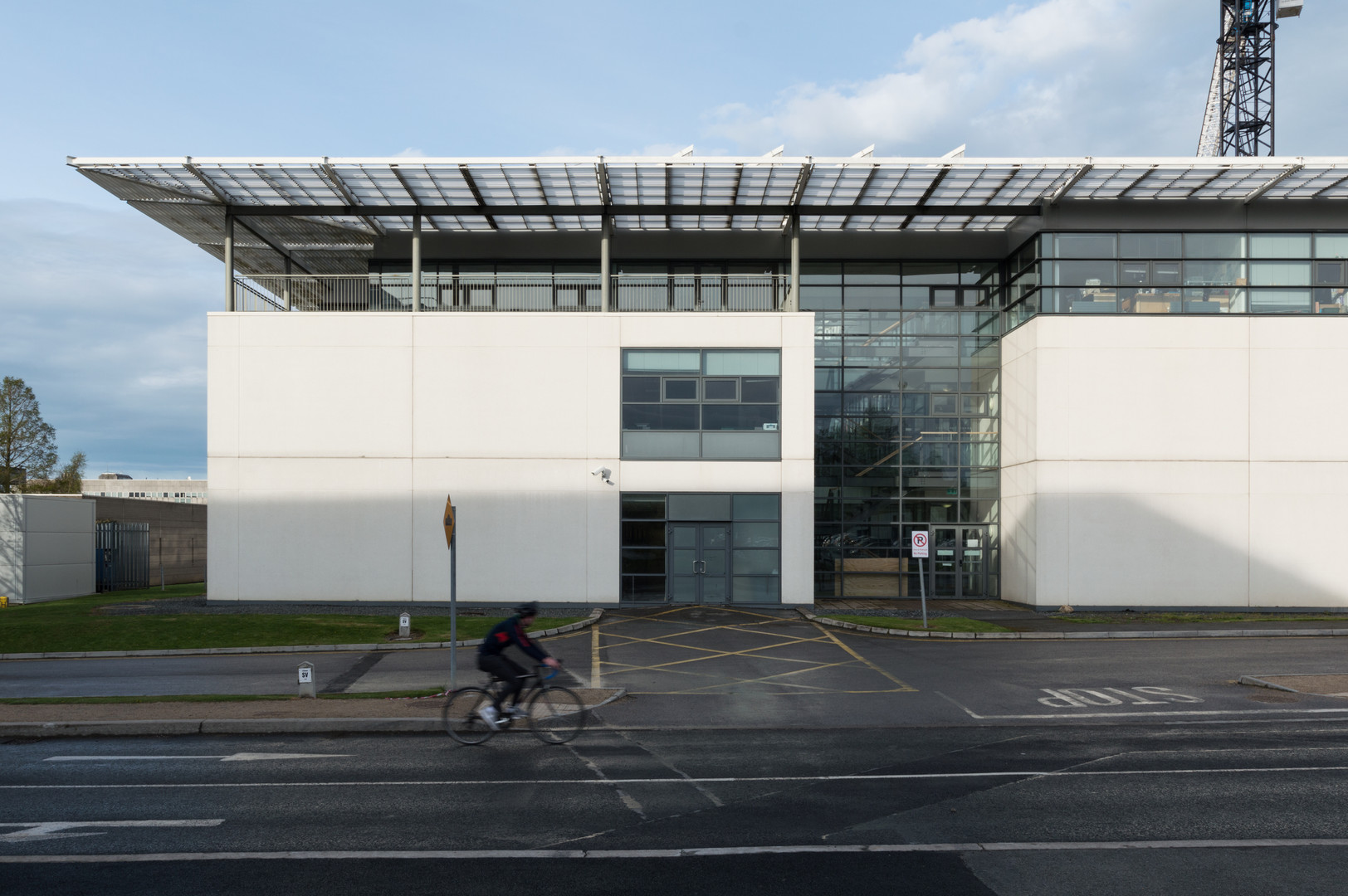 The back entrance to the Quinn School of Business, UCD, Dublin