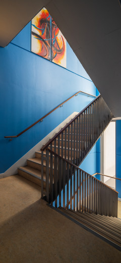 Stairwell of Ardscoil Ris, Limerick