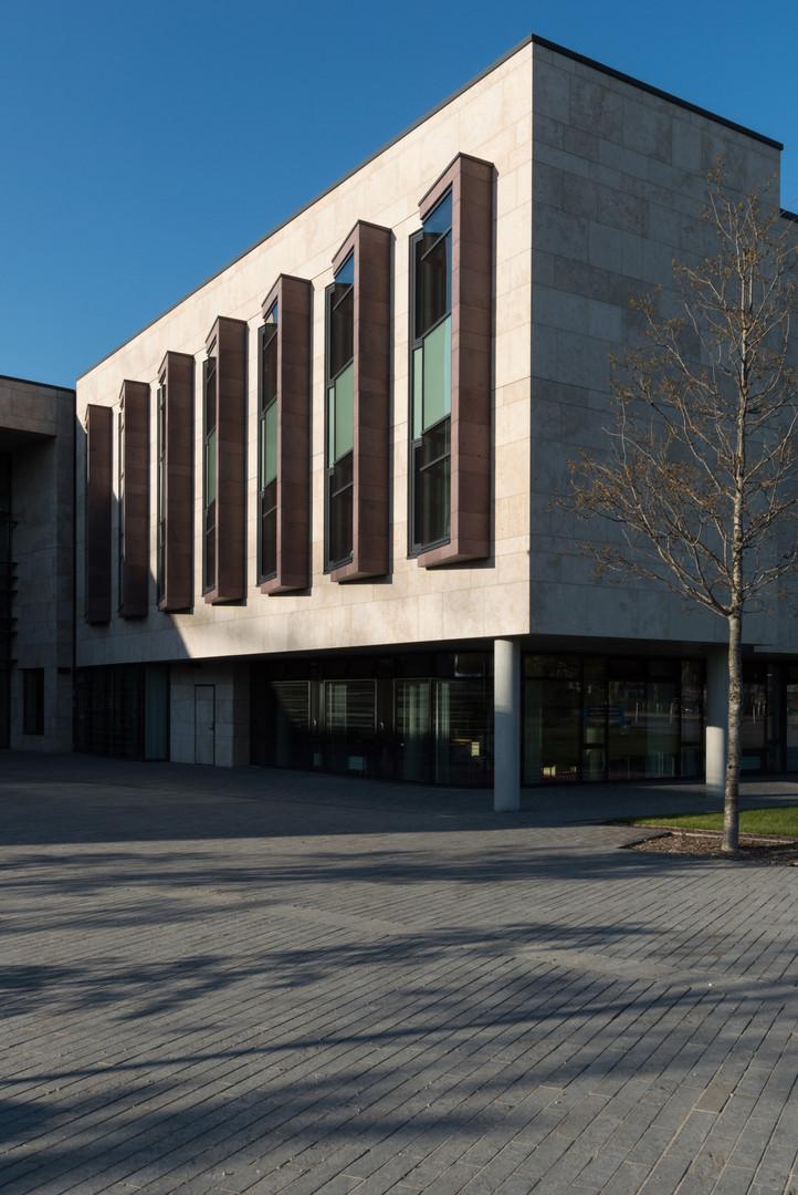 External view of Sutherland School of Law, UCD, Dublin