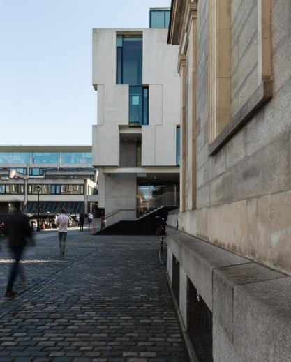 View of Long Room Hub, Trinity College, Dublin
