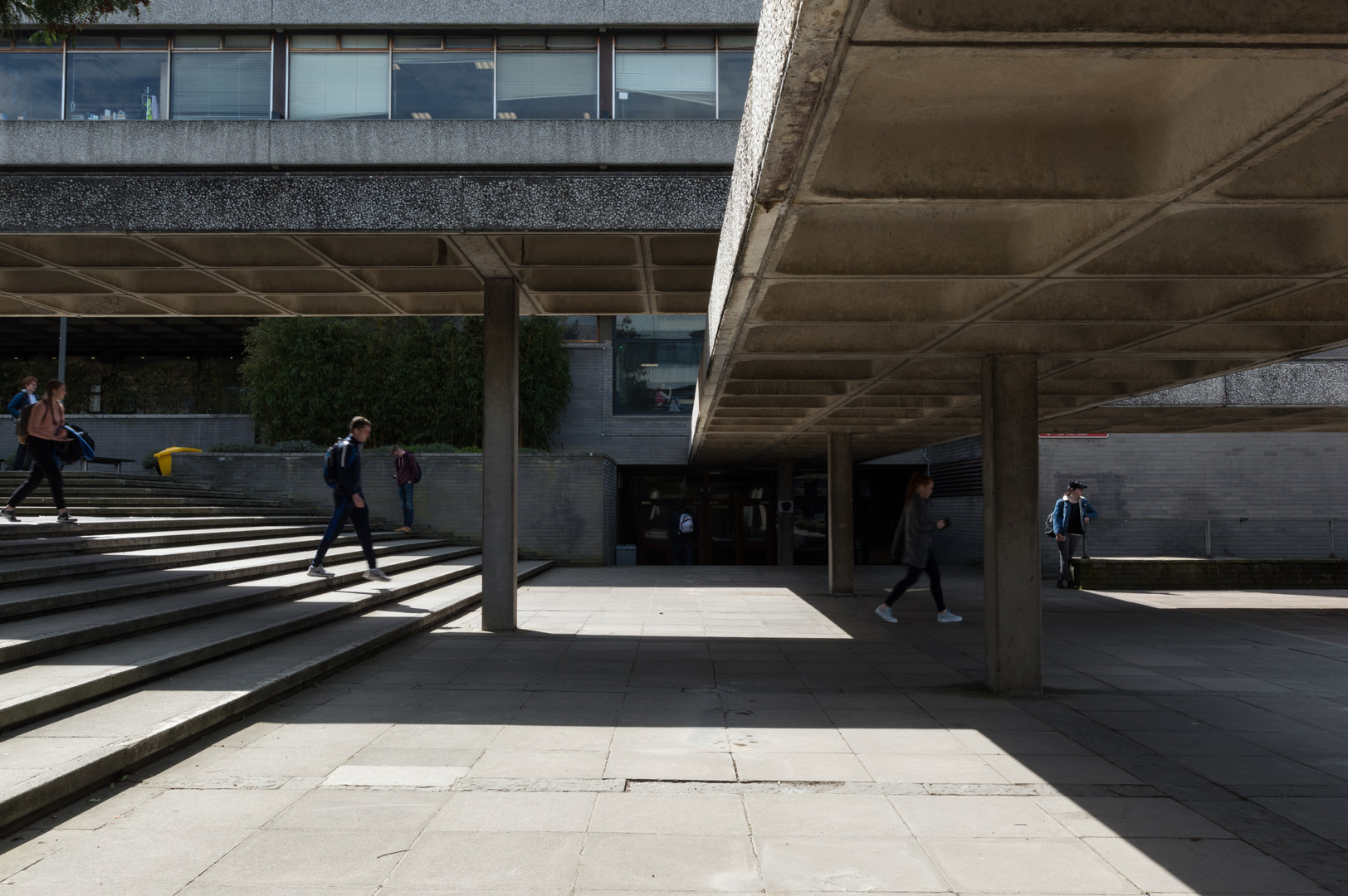 Covered Walkways of the Administration Building in UCD, Dublin