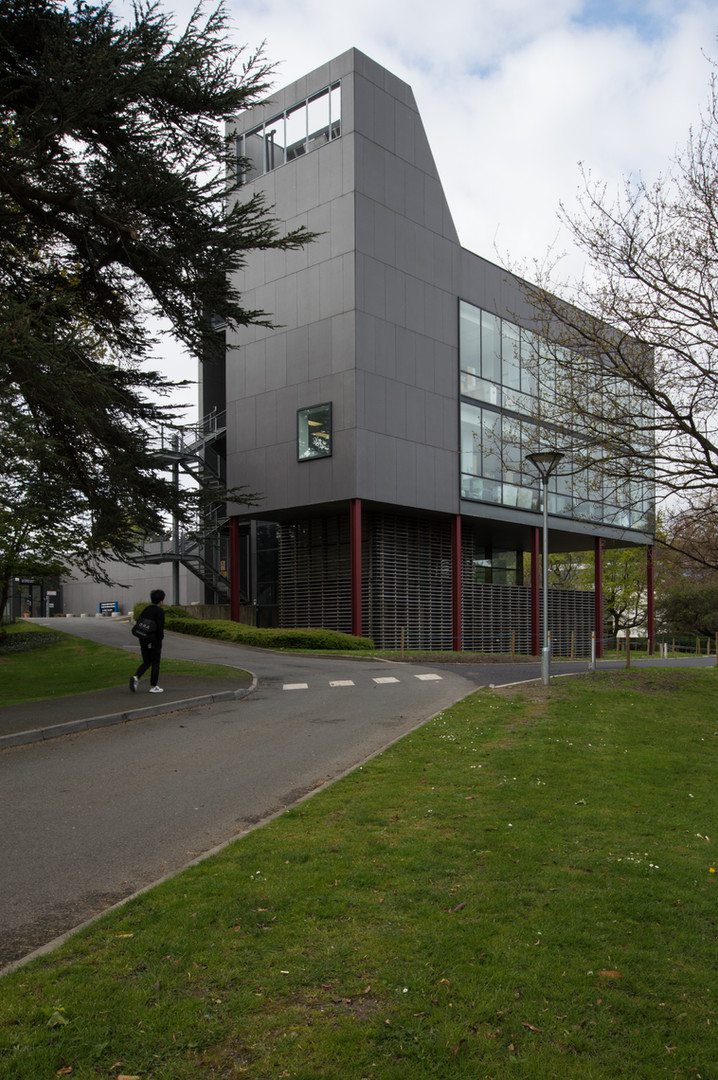 External view of Centre for Research into Infectious Diseases