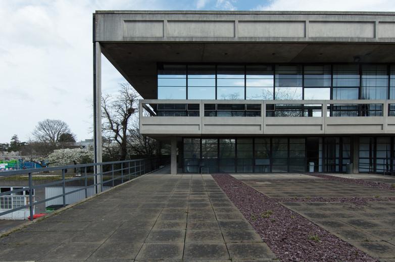The back of the Restaurant Building in UCD, Dublin