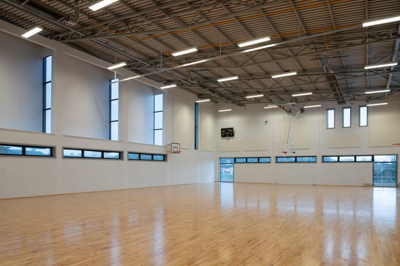 Interior of gym in Colaiste Iosaef, Kilmallock, Limerick