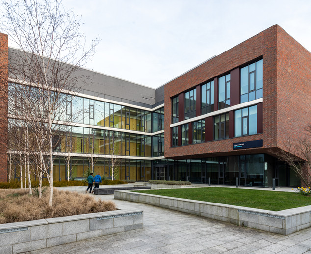Exterior view across courtyard of Nano Research Facility at DCU, Dublin