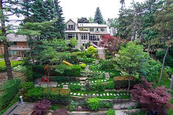 Backyard pathway