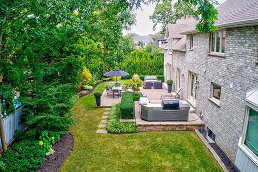 Manicured Backyard
