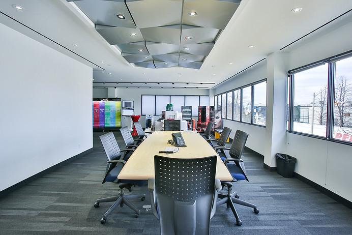 Boardroom in an office building