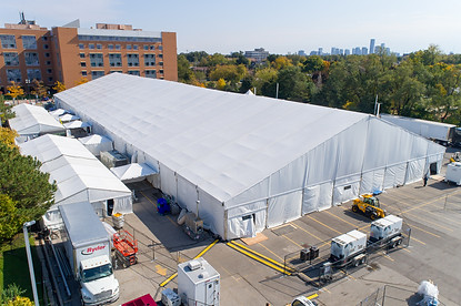 Tented Event in Toronto