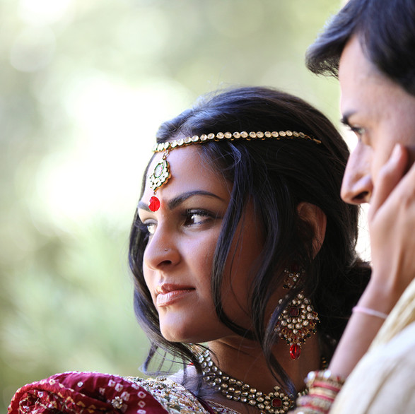 Indian Bride and Groom