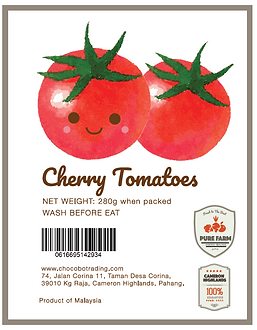 Chocobo Trading- Cameron Highland Tomato supplier