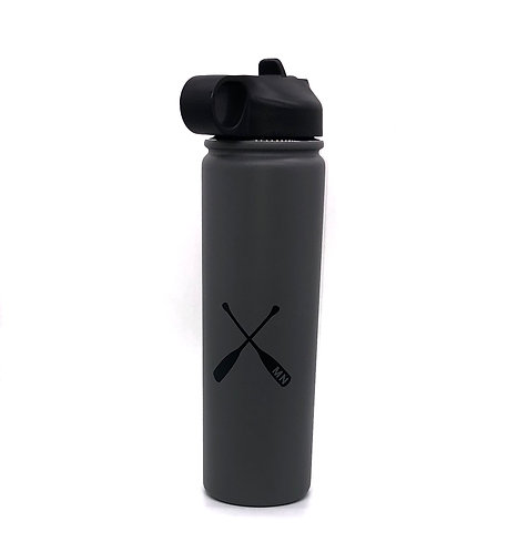 20 oz MN Paddle Stainless Water Bottle