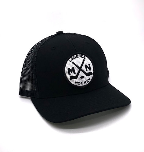 MN Legends Black Snapback