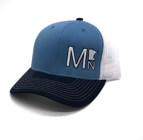 MN State Tricolor Snapback