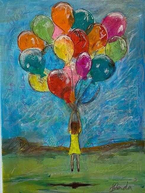Glenda Gibson - Facing my Fears - 2021 -