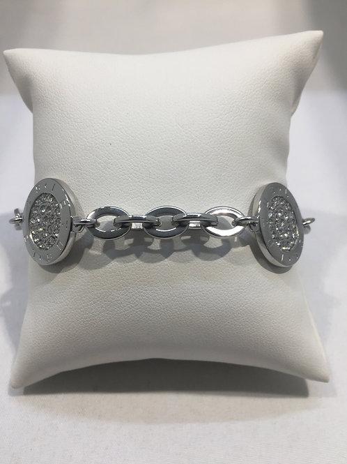 Bracelet mailles multi-anneaux