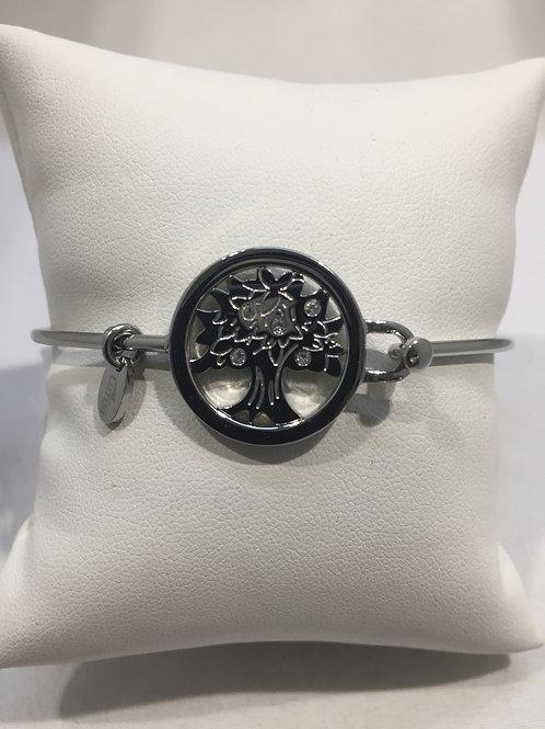 Bracelet esclave acier arbre de vie