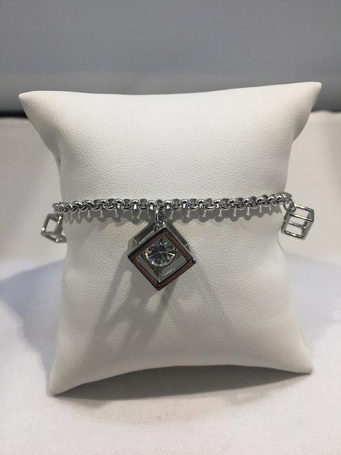 Bracelet breloques cubes