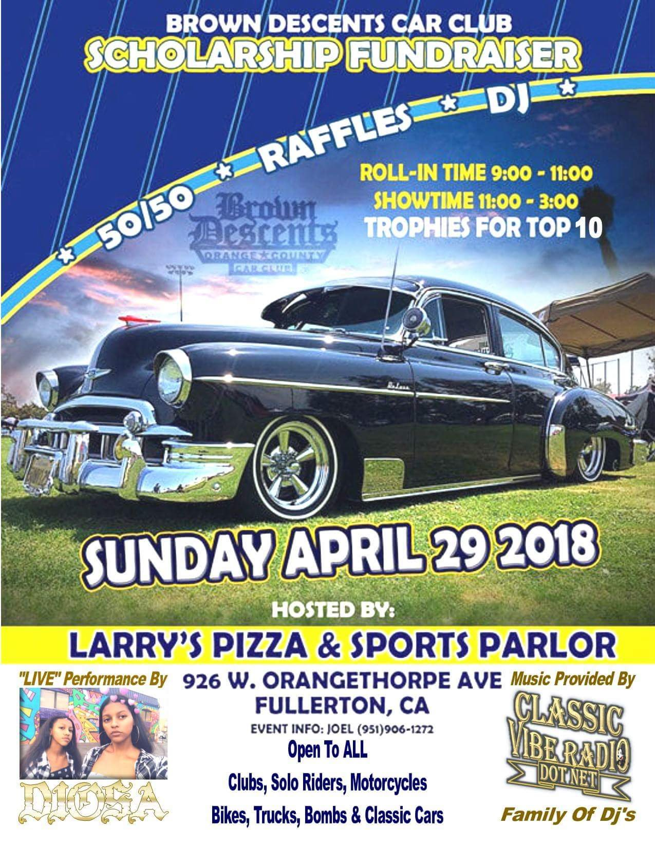 Brown Descents Car Club Car Show 2018
