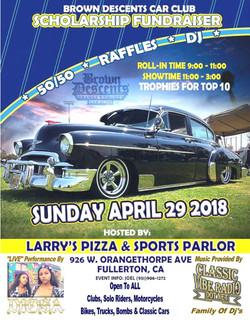 Brown Descents Car Club Car Show 2018