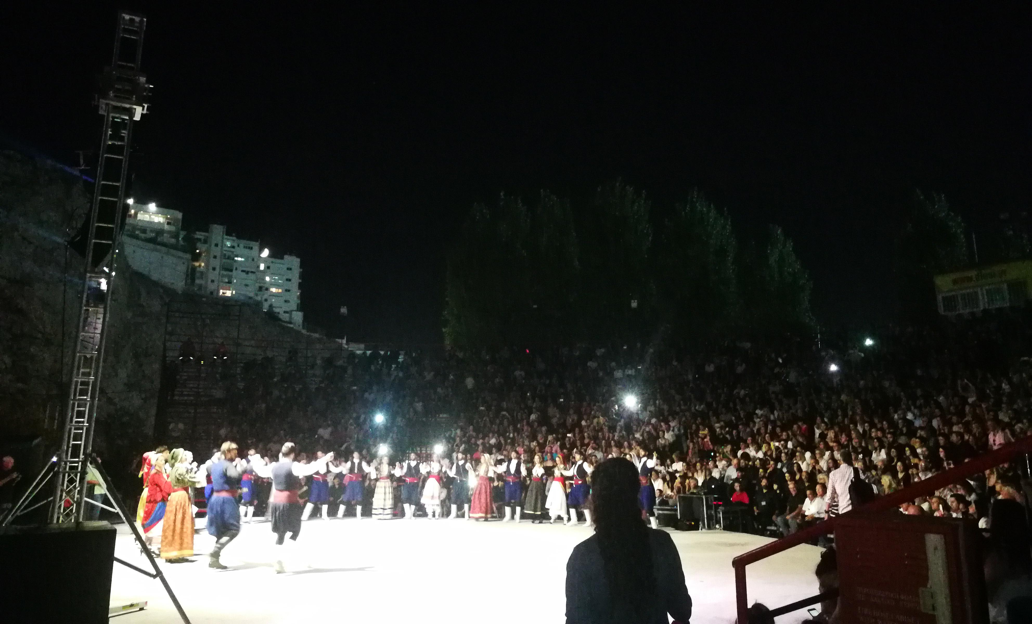 Ο Αντώνης Μαρτσάκης στο Θέατρο Βράχων