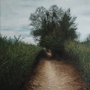 Pathway to the grave of Vincent Van Gogh, 2019. Sold