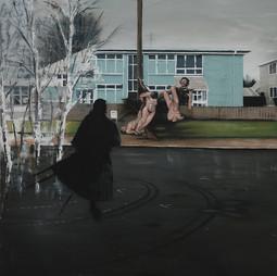 Mosgiel morning, 2015. Sold