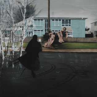 Mosgiel morning, 2015. Sold