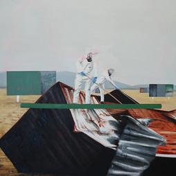 Stickmen, 2017. Sold