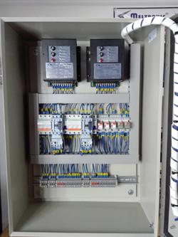 Tablero control  hornos fundición