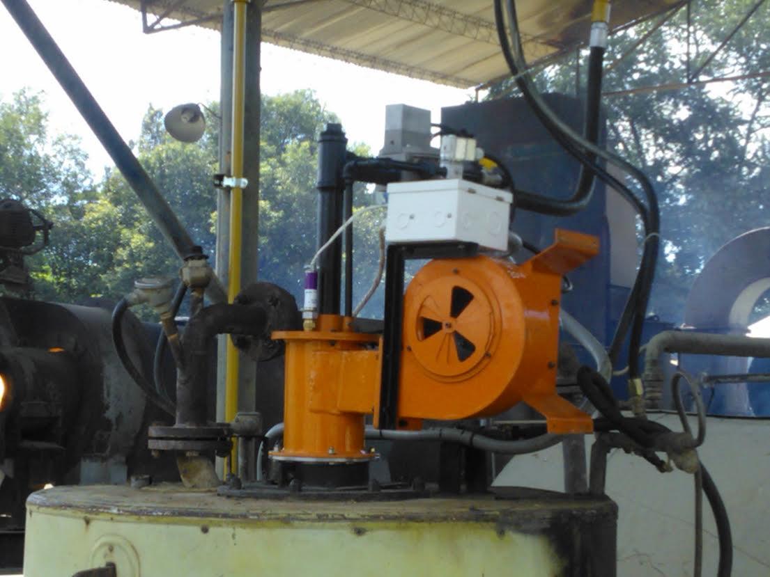 Conversión caldera de aceite térmico