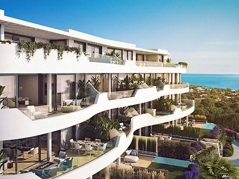 New complex of apartments in Spain