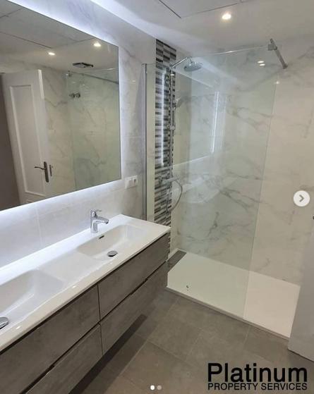 Platinum renovated bathroom