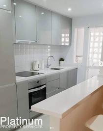 Platinum kitchen after