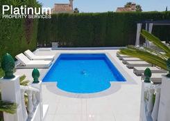 Platinum pool area after