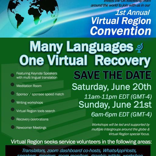 Virtual Region Convention