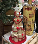 cork Christmas tree, wine carrier