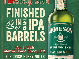 Jameson Caskmates IPA Edition Launch