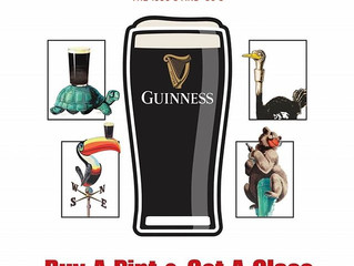 Thursty Thursdays of January Featuring Gilroy Glassware by Guinness