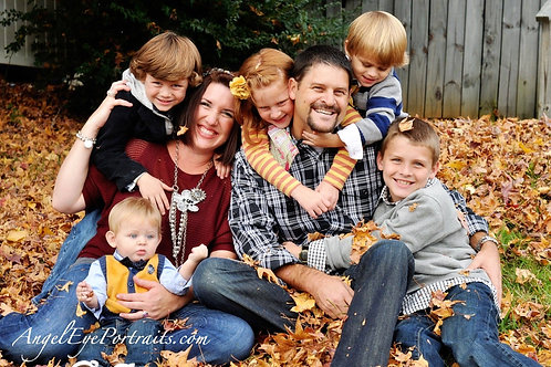 Family Mini Sessions- October 10th ($275)