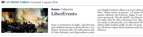 Liberevento 2016