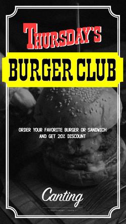 Thurdas-Burger-Club