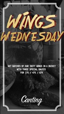 Wings-Wednesday