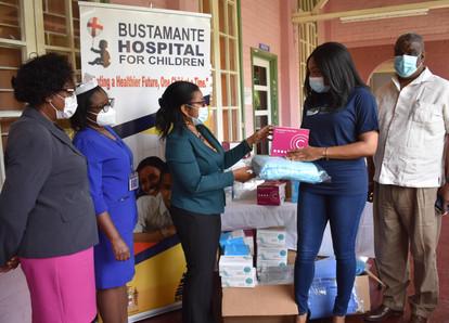 Bustamante Hospital for Children Receives COVID-19 Support from Diaspora for Children Foundation