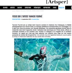 ARTSPER / France / Septembre 2015